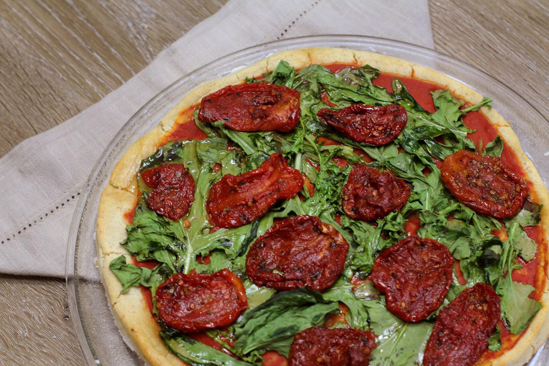 Massa de Pizza Vegana e Sem Glúten